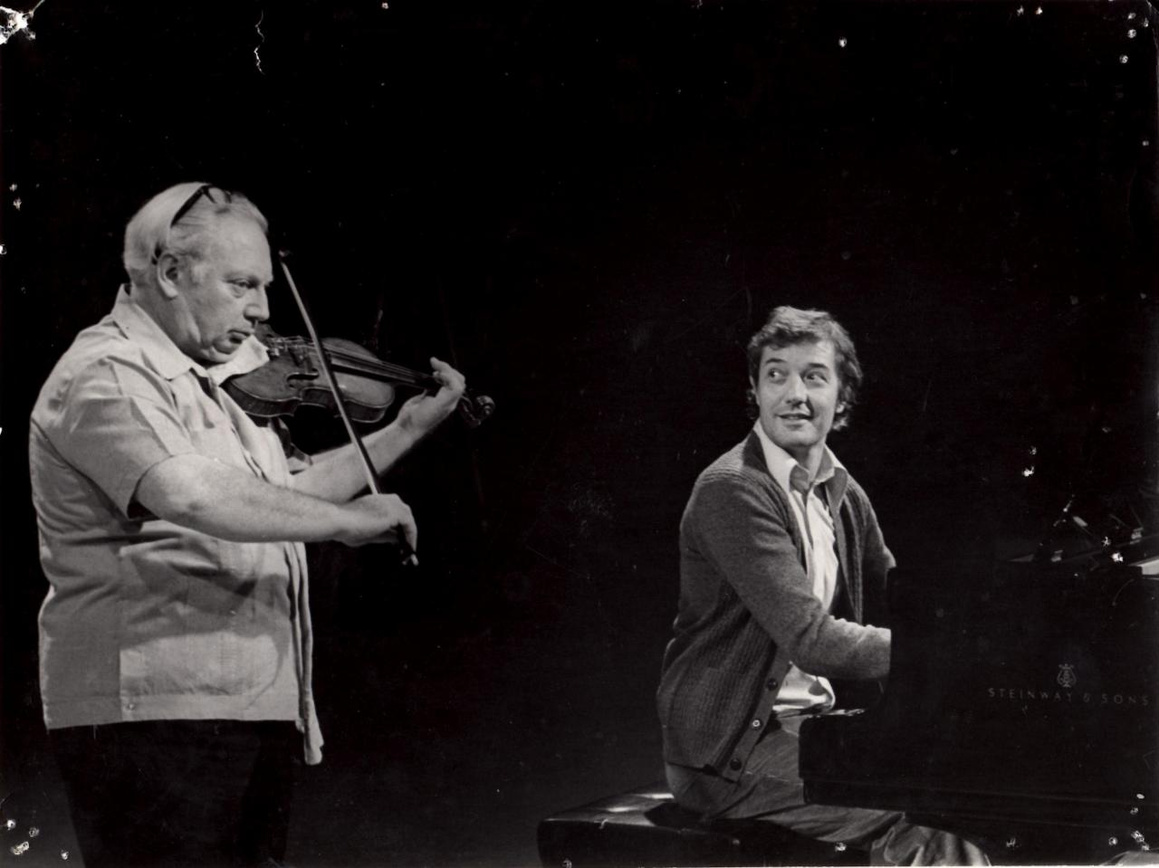 With Isaac STERN